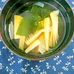 旬の味☆若竹汁