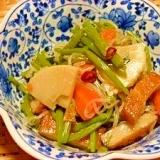山菜ミズと筍の炒り煮