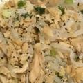 【超低カロリー】白滝の海鮮焼きそば風ツナ炒め