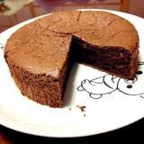 メレンゲでふわふわココアケーキ