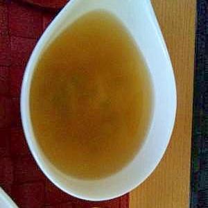 簡単節約の野菜コンソメスープ