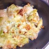 【糖質制限】バジル風味★とり胸肉のマリネチーズ焼き