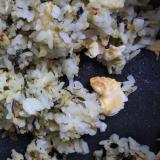 高菜と卵のシンプルチャーハン・ゴマ油で