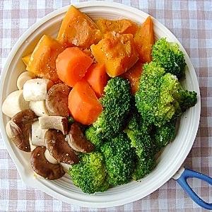 フライパンで温野菜