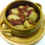 コンビーフと里芋のオーブン焼き