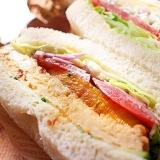 ふわふわ卵焼き&かぼちゃのサンドイッチ