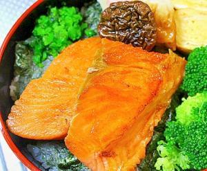 紅鮭のしょうゆ焼き