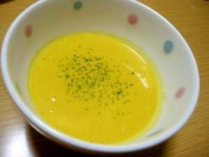 野菜のうまみたっぷり♪かぼちゃのポタージュ☆