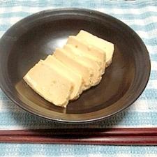 ちょっとおつまみ☆お豆腐の味噌漬け