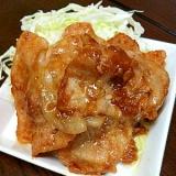 ★豚肉の味噌炒め★