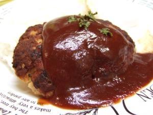 カリッふわ高野豆腐入りハンバーグ