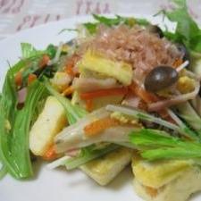 豆腐のチャンプルー
