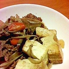 肉豆腐(ごぼう入り)