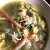 鶏スープが美味しい*水炊き→しめの餃子スープ