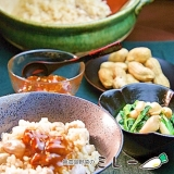 千葉県名物!生落花生と新米のシンプルな炊き込みご飯