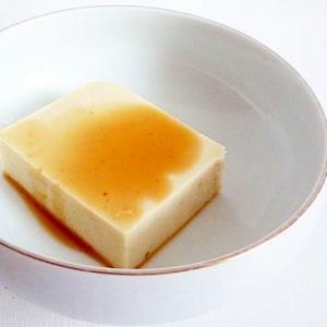 粉寒天でお手軽&ヘルシー 胡麻豆腐