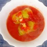 ホールトマト缶でロールキャベツのトマト煮込み
