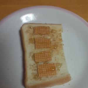 メープル胡麻トースト☆大麦クラッカー