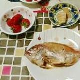 れんこ鯛の煮つけ