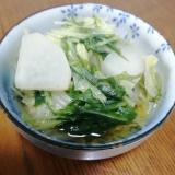 早くて美味しい☆白菜と大根のさっと煮