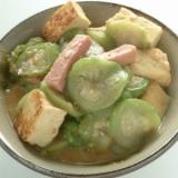 沖縄料理ナーベーラーンブシーにチャレンジ