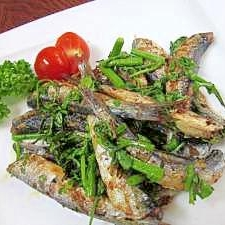 フライパン DE 焼き魚☆ 「イワシの香味焼き」