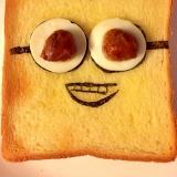 ミニオン☆トースト〜ゆで卵&ミートボール〜