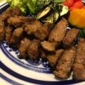 豚厚切り肉の味噌煮