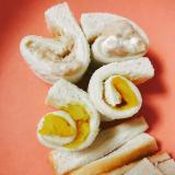 離乳食の朝食に☆ぐるぐるサンドイッチ