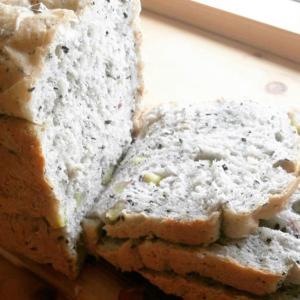 秋の味 黒ごまさつまいもパン