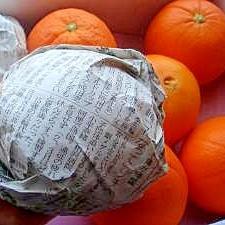 ネーブルオレンジの賢い保存法♪
