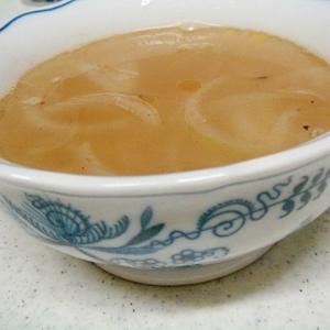 玉ねぎの中華スープ