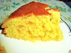 ゆずジャムと卵いっぱいのふわっと炊飯器ケーキ