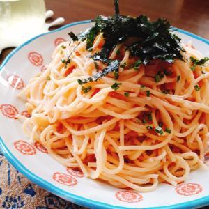 シンプルなたらこスパゲッティー