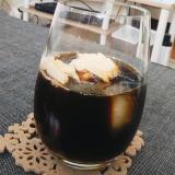 おうちカフェ♪シナモンコーヒーフロート