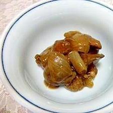 ぷり照り☆砂肝の甘辛生姜煮