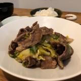 お野菜と牛肉のしょうゆ麹炒め!簡単!時短!