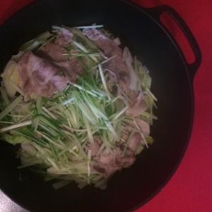 一人鍋に!野菜たくさんの蒸し鍋