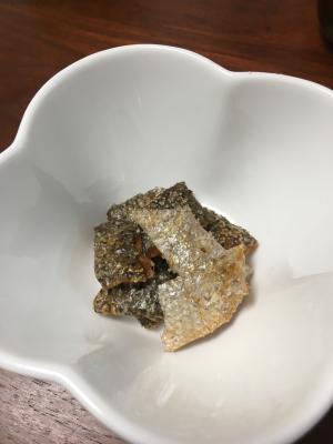 ☆トースターで簡単☆鮭皮のカリカリ焼き
