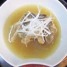 コラーゲンたっぷりの「テールスープ」