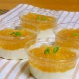水切りヨーグルトのリンゴソース