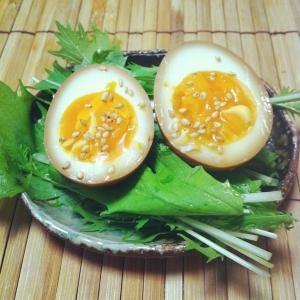 *おつまみにウマい!煮卵♡♥*