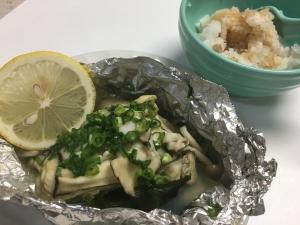 料亭の味みたい!牡蠣のホイル焼き