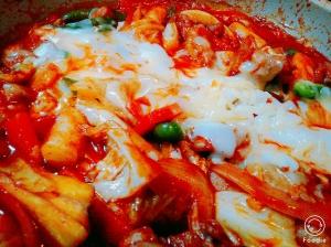 野菜たっぷり!チーズタッカルビ