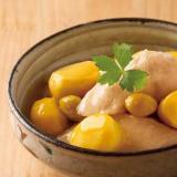 栗と銀杏と鶏肉のさっぱり煮