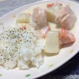 鮭と大根のクリームシチュー