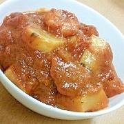かぶと海老のトマト煮込み