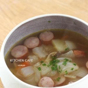 たっぷり玉ねぎの野菜スープ
