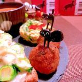 揚げない芽キャベツのひとくち鶏ささ身メンチカツ