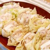 ♪味覇と生姜で美味い♡白菜,豚肉,豆腐の重ね蒸し♪
